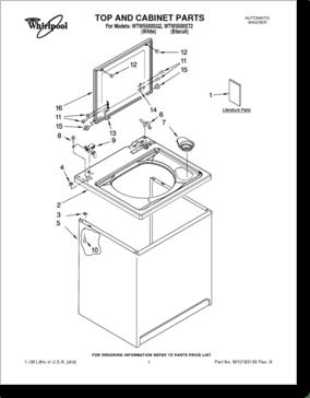 Diagrama/Manual Whirlpool