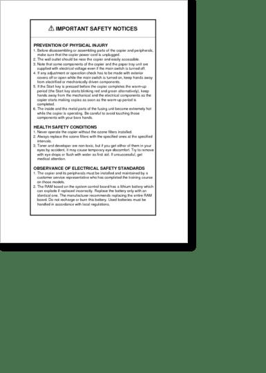 Diagrama/Manual Ricoh ricoh aficio 200