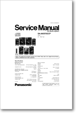 Diagrama/Manual Panasonic