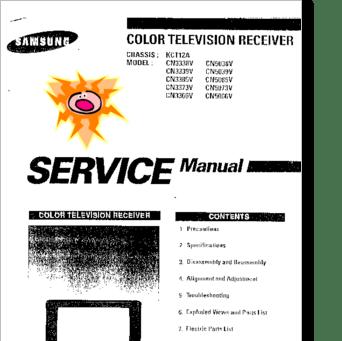 Diagrama/Manual SAMSUNG CN3338V, CN3339V, CN3385V, CN3373V