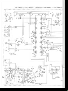 Diagrama/Manual SANYO TVS-2545PFS(C), TVS-2542MA(C), TVS