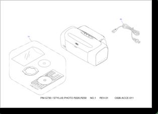 Diagrama/Manual Epson Epson R290