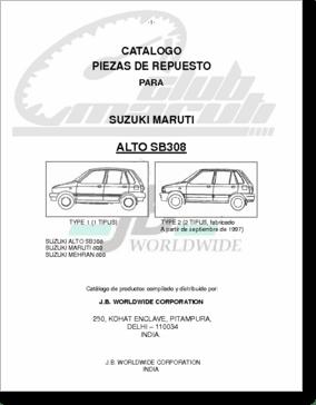 Diagrama/Manual Suzuki maruti