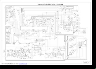 Diagrama/Manual PHILIPS TDA93xx