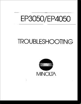 Diagrama/Manual Minolta 3050-4050