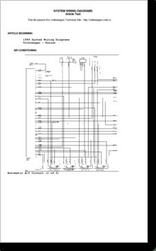 Diagrama/Manual Volkswagen Passat