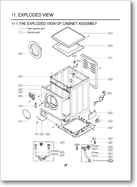 Diagrama/Manual LG WD-1070FD