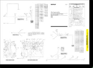 Diagrama/Manual CATERPILLAR C11 Y C13