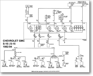 Diagrama/Manual CHEVROLET 98