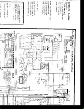 Diagrama/Manual Daewoo TV DAEWOO CN-001A