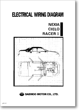 Diagrama/Manual DAEWOO NEXIA, CIELO y RACER II