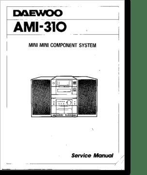 Diagrama/Manual Daewoo ami-310