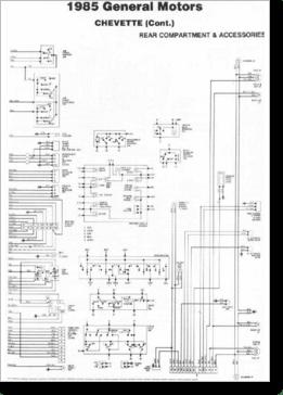 Diagrama/Manual CHEVROLET chevette 85