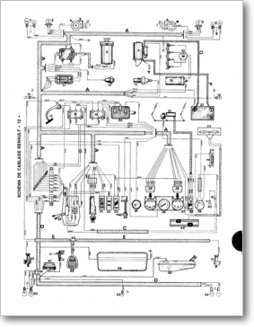 Diagrama/Manual Renault r 12