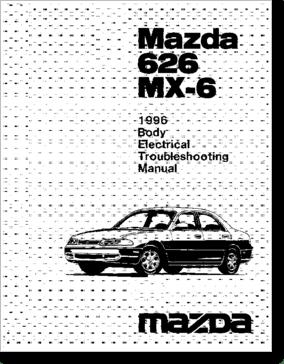 Diagrama/Manual Mazda mx6 96