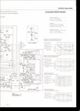 Diagrama/Manual Hitachi Hitachi HMA 8300