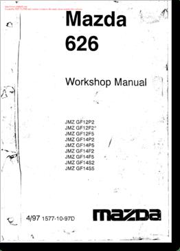 DiagramaManual Mazda Mazda