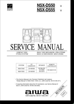 Diagrama/Manual Aiwa aiwa nsx-ds50