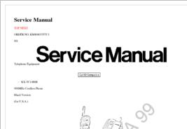 Diagrama/Manual Panasonic KX-TC1486B
