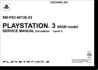 Diagrama/Manual sony ps3