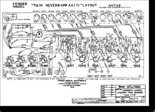 Diagrama/Manual FENDER TwinReverb AA270