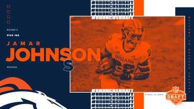 Safety Jamar Johnson, Indiana, Round 5, Pick 164