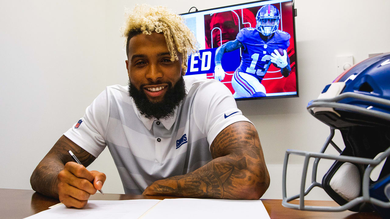 Odell Beckham Jr signs contract extension