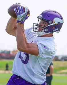 also pick mailbag how will the wr depth chart play out rh vikings
