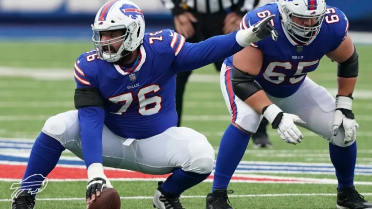 How Jon Feliciano became an unsung hero for the Bills in his season debut