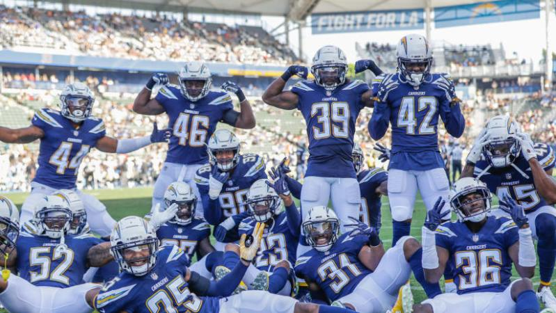 Image result for chargers defense picture