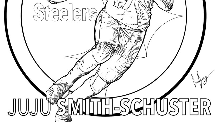 Pittsburgh Steelers Coloring Pages Pittsburgh Steelers Steelers Com