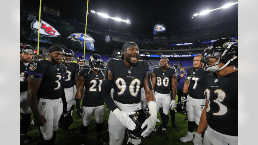 OLB Pernell McPhee Week 3: Chiefs vs. Ravens