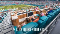 Living Room Miami Dolphins | www.myfamilyliving.com