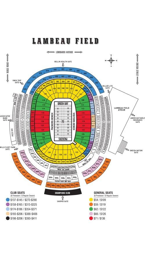 small resolution of  tundra line national anthem 2018 lambeau field seating chart