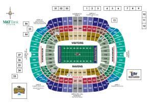 M&T Bank Stadium Diagrams | Baltimore Ravens
