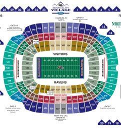 m t bank stadium diagrams [ 2989 x 2227 Pixel ]
