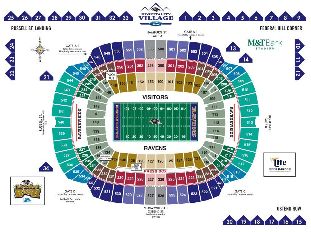 medium resolution of m t bank stadium diagrams