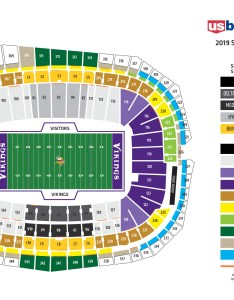 My vikings account also seating chart at   bank stadium minnesota rh