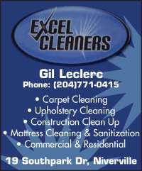 Excel Carpet Cleaners - 19 Southpark Dr, Niverville, MB