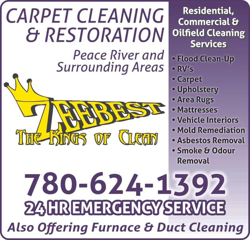 Zeebest Carpet Furnace & Duct Cleaning Service