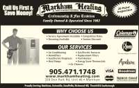Markham Heating & Air Conditioning - Markham, ON - 320 Don ...