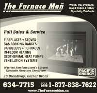 The Furnace Man Ltd - 26 Broadway, Corner Brook, NL