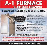 A-1 Furnace & Air Duct Cleaning