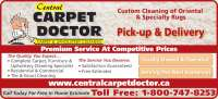 Central Carpet Doctor - Opening Hours - 1024 Marshal Rd ...