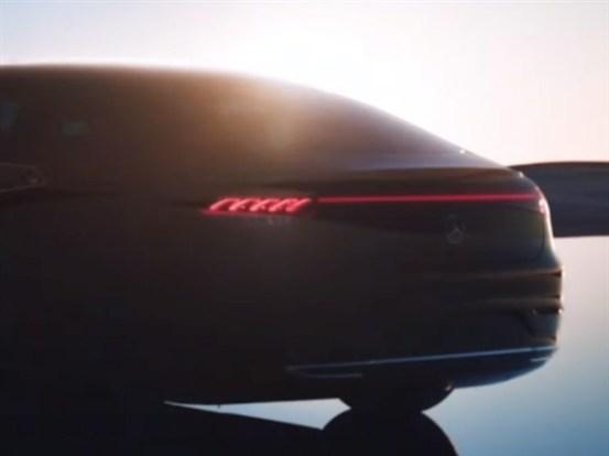 """尾灯类似于比亚迪汉斯奔驰EQS全球首发:引人注目的56英寸""""电视""""中央控制系统-IT和交通"""