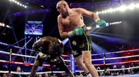 Tyson Fury largely dominated his fight