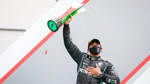 Lewis Hamilton champion du monde 2020