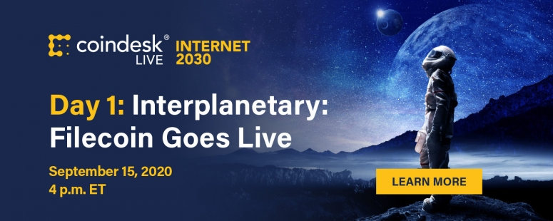 CoinDesk Live Internet 2030 Filecoin Day 1