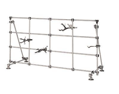 Cole Parmer Medium Lab Frame aluminum 48 W X 24 H X 18 D