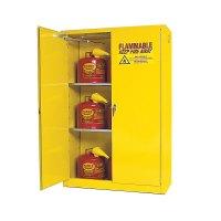 Flammable Storage Cabinet Self Closing Doors 45 Gallon ...